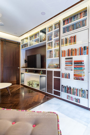 Interior photo of entertainment Room in  house in Andheri, Mumbai