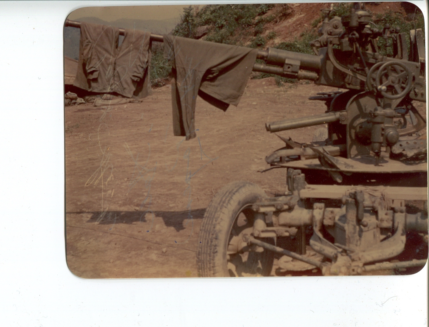 kron237 Captured Chink Anti Aircraft Gun
