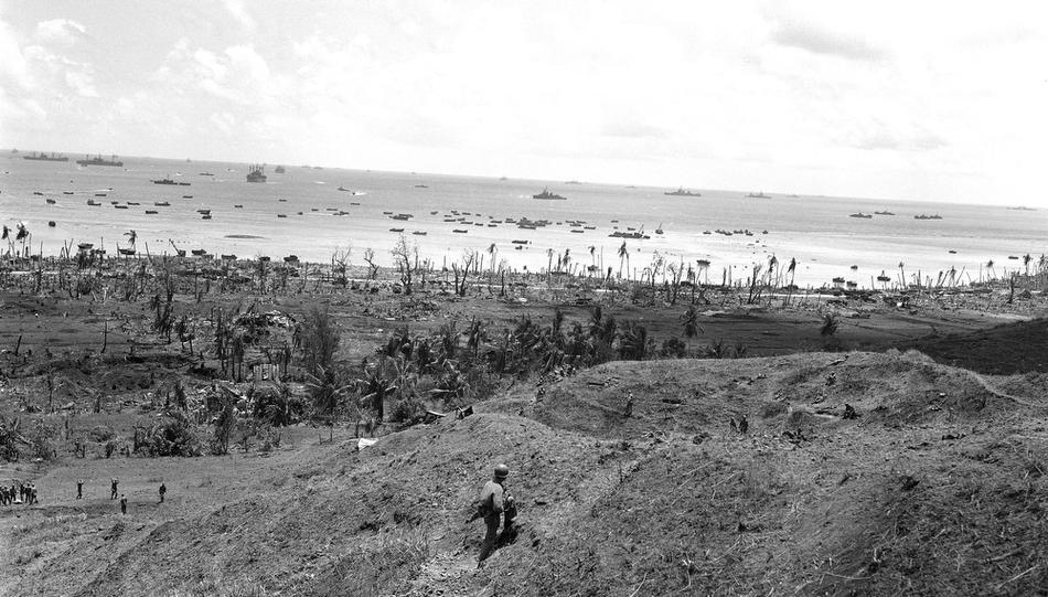 Guam on July 27, 1944