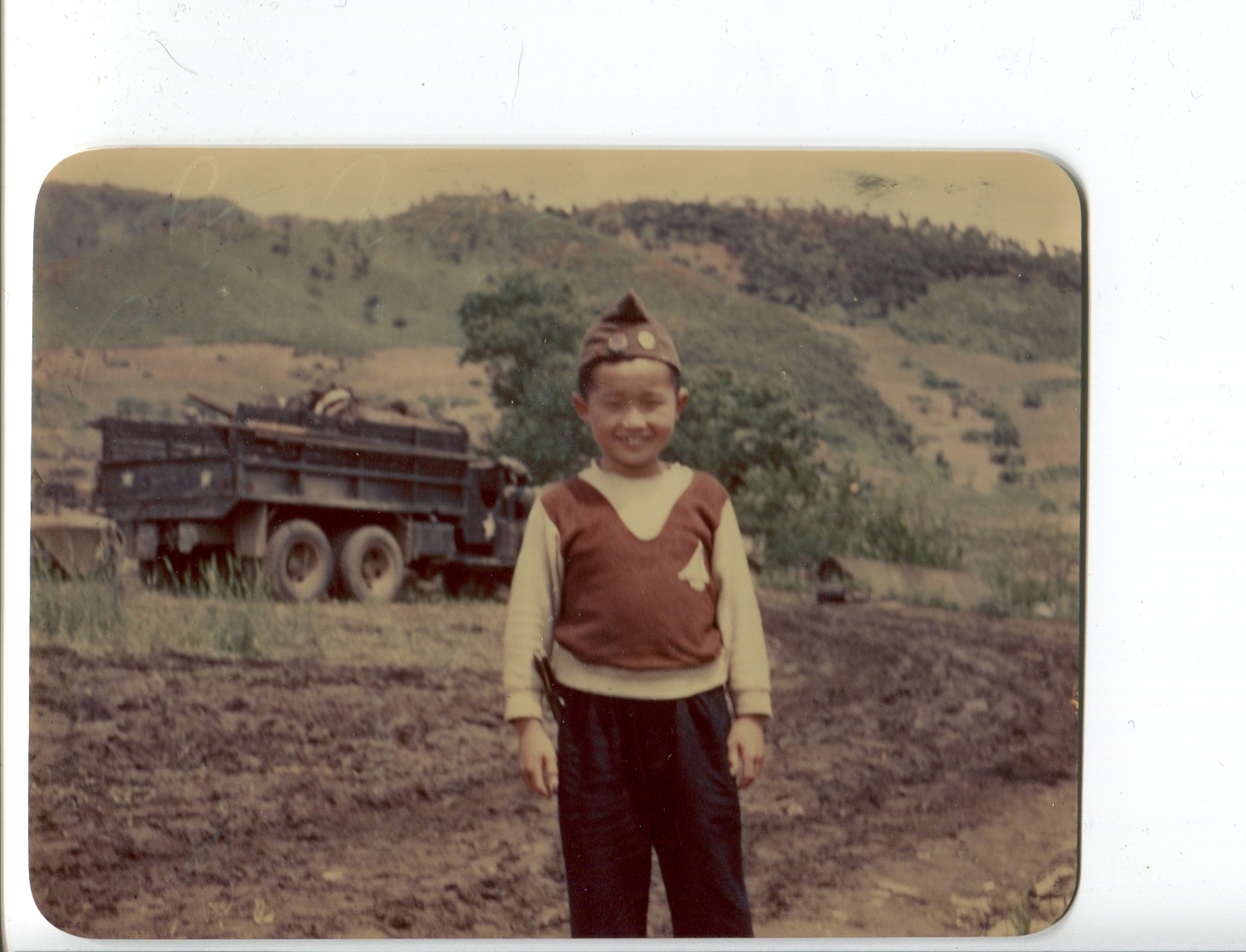 kron107 Kim Little S Korean boy who was