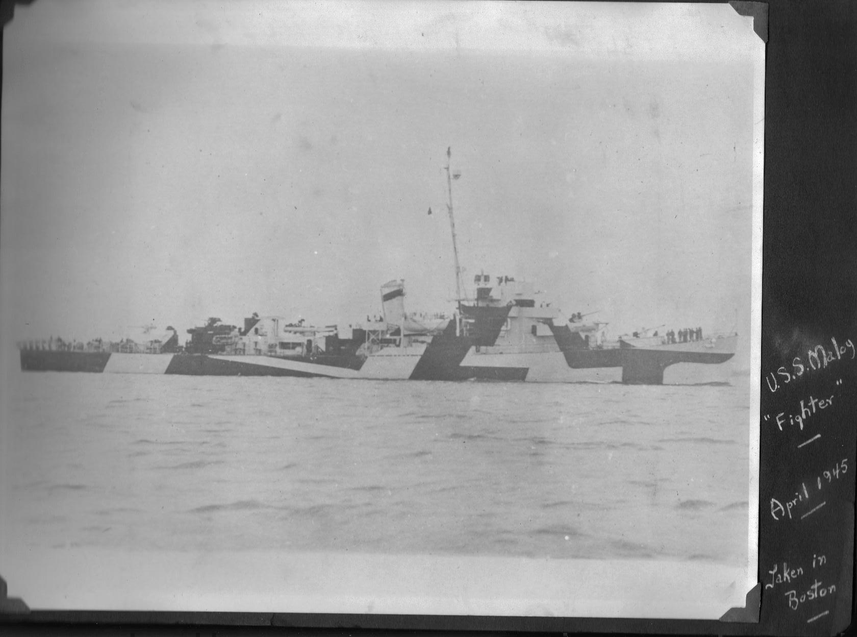 USS Maloy DE-791