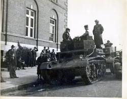 SGT Gritton, Edwin Elliott, with Harrodsburg tanks.