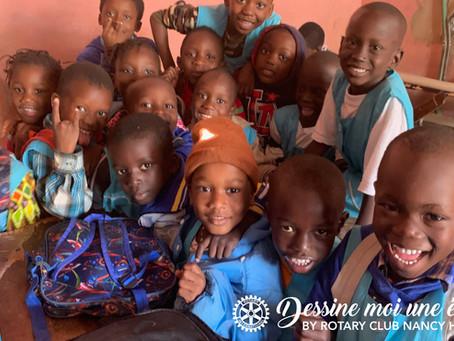 """""""Dessine moi une école"""" ... à Dakar"""
