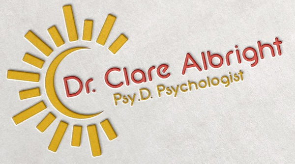 Logo of Dr. Clare Albright, Psychologist