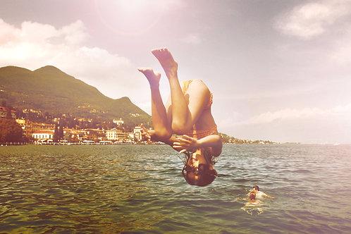 Jump - Lake Garda