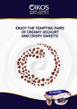 OIKOS PRODUCT LAUNCH PRINT CAMPAIGN - HUNGARY 2020