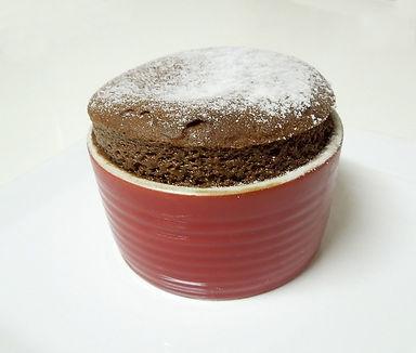 סופלה שוקולד - עוגת שוקולד חמה