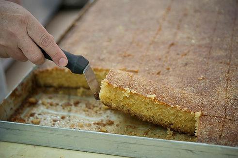 עוגת סולת ביתית כמו של פעם