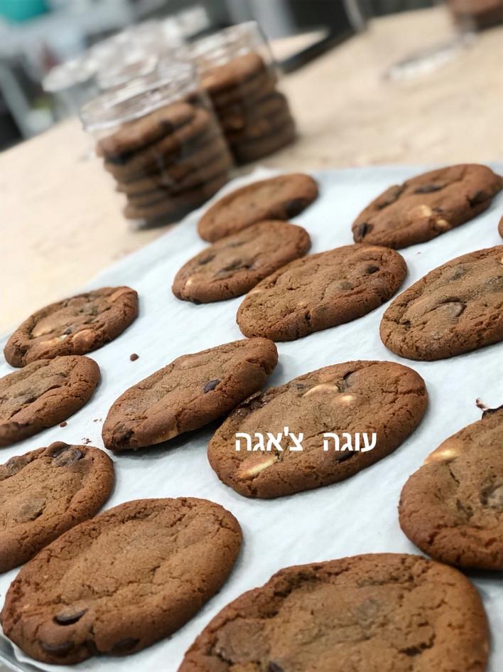 עוגיות קוקיז מושחתות של עוגה צ'אגה