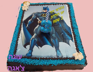 עוגת יום הולדת באטמן