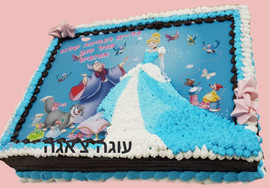 עוגת נסיכות לילדה
