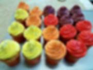 קאפקייקס צבעוניים