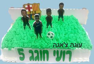 עוגת ברצלונה עם שחקנים