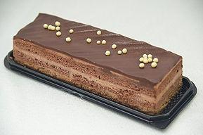 עוגת שוקולד שכבות של עוגה צ'אגה