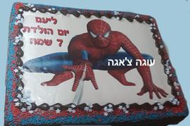 עוגת ספיידרמן לילדים