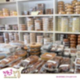 מבחר ענק של עוגות עוגיות וקינוחים בקונדיטוריה שלנו באילת