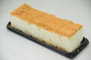 עוגת פס של גבינה פירורים קלאסית