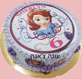 עוגת נסיכה לגיל שש