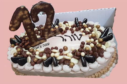 עוגת שוקולדים לבת מצווה