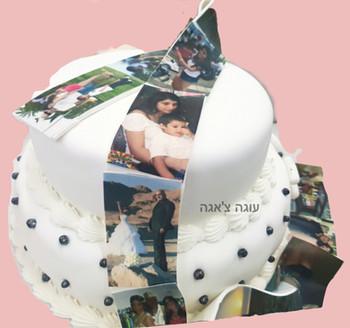 עוגת סרט צילום עם תמונות אמיתיות