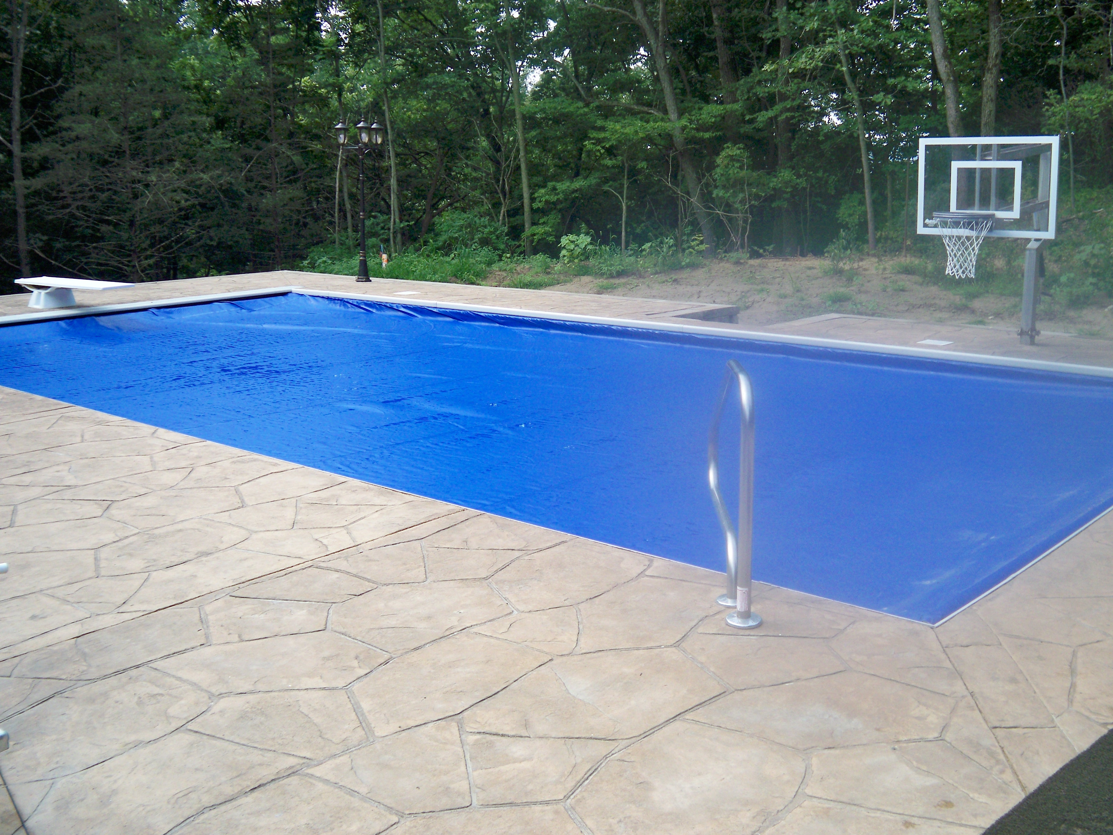 Automatic Inground Pool Cover