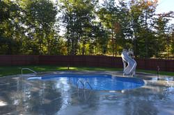 Mountain Lake Inground Swimming Pool