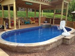 Optimum Semi Inground Swimming Pool