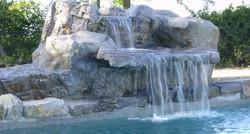 Custom waterfall feature