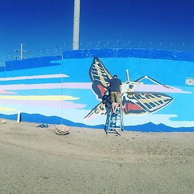 T.E.P & ASDM - Protecting Pollinators Mural