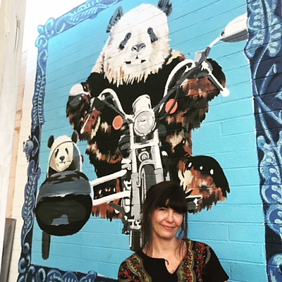 Saint Charles Tavern - Panda Mural