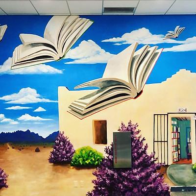 Brave Books Mural 2019-2020