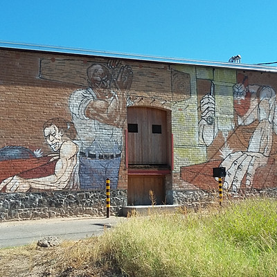 Steinfeld Warehouse - Mural Repair