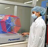Yarn testing at ROSHAWA Quality Lab
