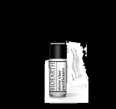 Piccolo flacone di siero viso purificante Bioearth