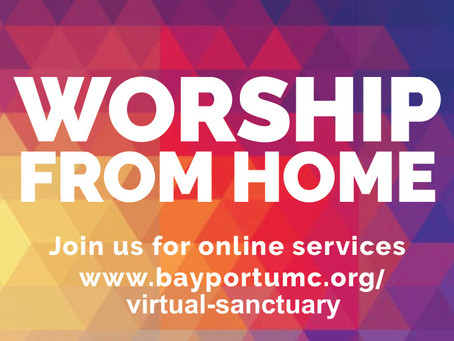 WORSHIP ONLINE OR IN-PERSON