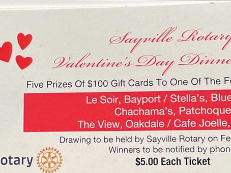 Sayville Rotary Club Raffle Fundraiser