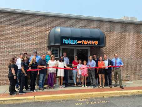 The Bayport Blue Point Chamber of Commerce welcomes Relax n Revive!