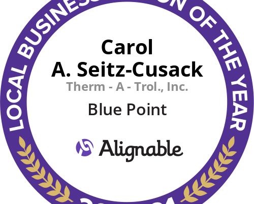 BBP Chamber President Carol A. Seitz-Cusack Local Business Person of the Year!