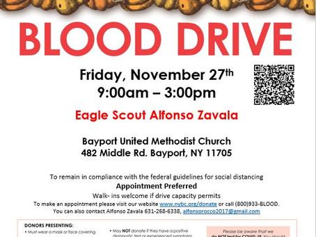 Urgent! Blood Drive