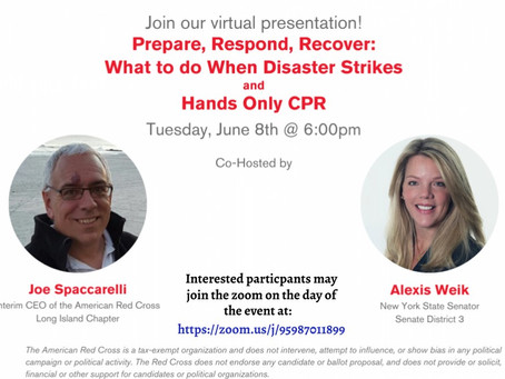 Prepare, Respond, Recover: What to do When Disaster Strikes and Hands Only CPR