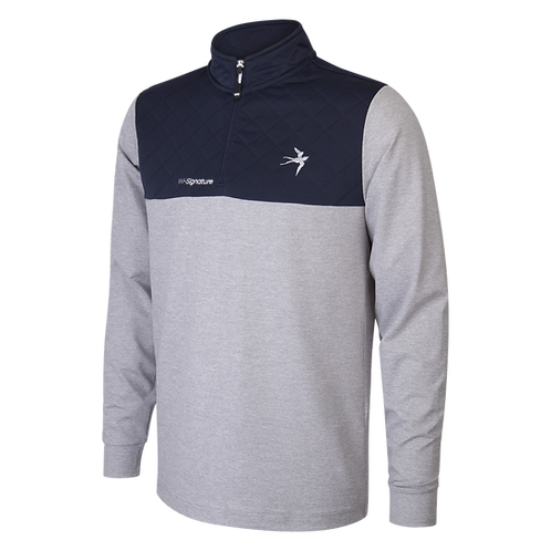 1/4 Zip Signature Jumper - Grey