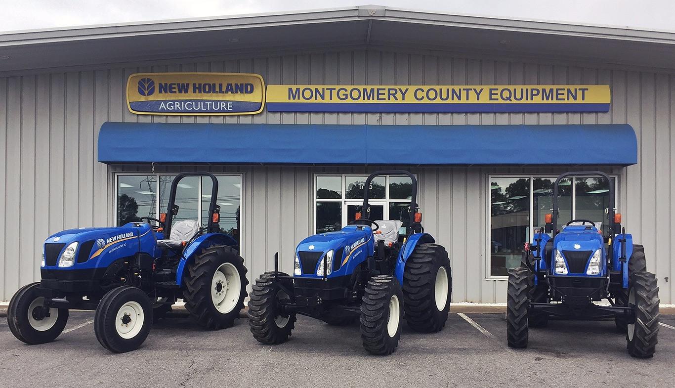 Montgomery County Equipment   New Holland   Clarksville, TN