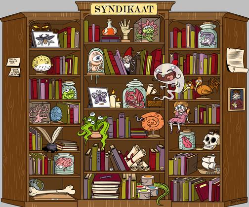 Boekenkast Banner