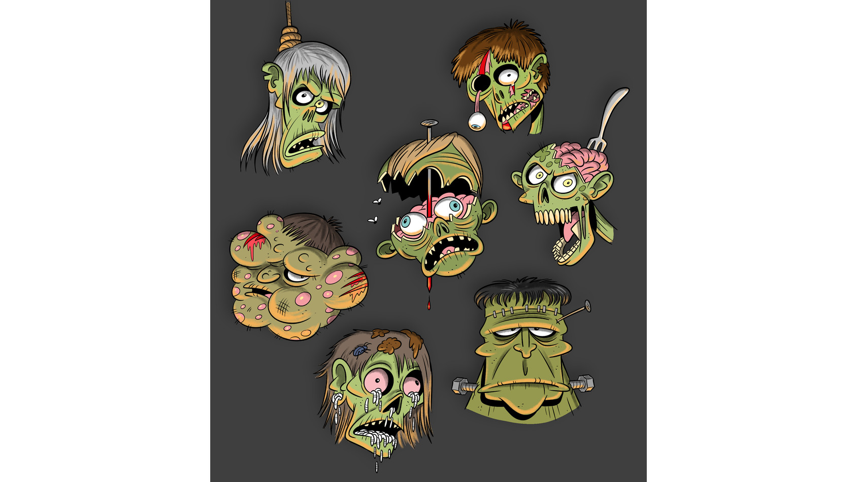 Zombiekoppies