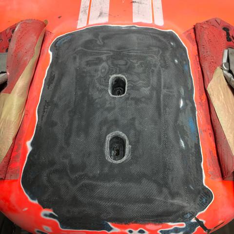 damaged foil box, tuttle box, foil repair devon