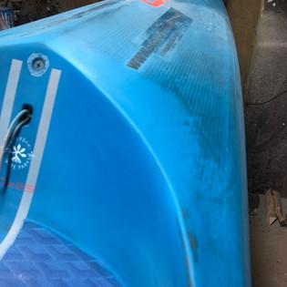 SUP reapir devon, south devon repair, ding reapir, foil repair, surfboard repair