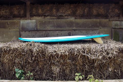 Fish Surfboard rocker line