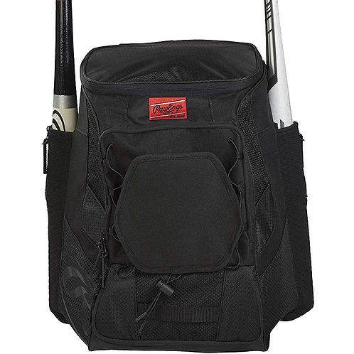 Batera Rawlings Negra Players Backpack Negro Maleta R600