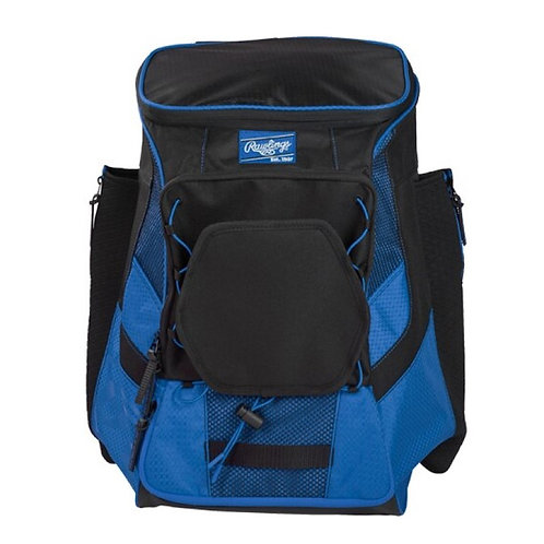 Batera Rawlings Azul Rey Players Backpack Maleta Una Pieza