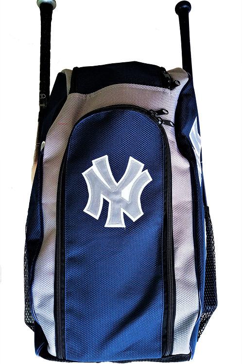 Batera Maleta Backpack Yankees Azul Marino